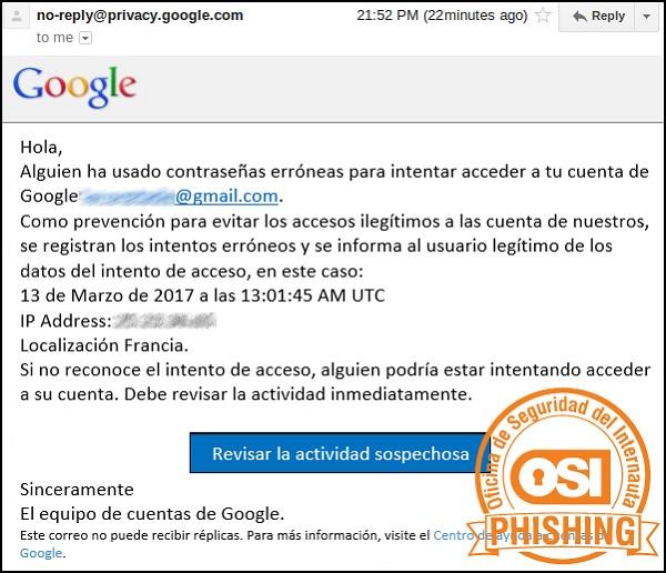 evitar phising