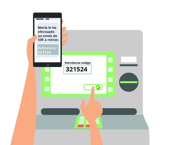 utilizando DIMO para traspaso de efectivo sin tarjetas