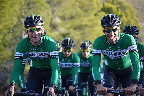 vuelta ciclista España con el equipo de Caja Rural - seguros RGA