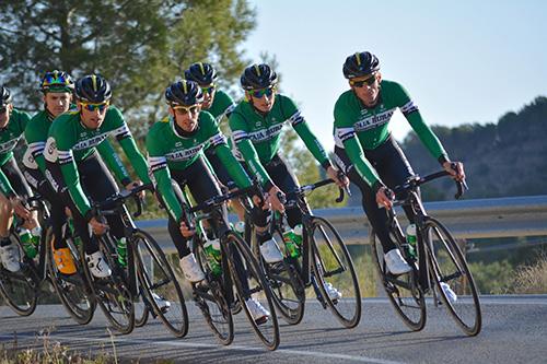 team Caja Rural en competición