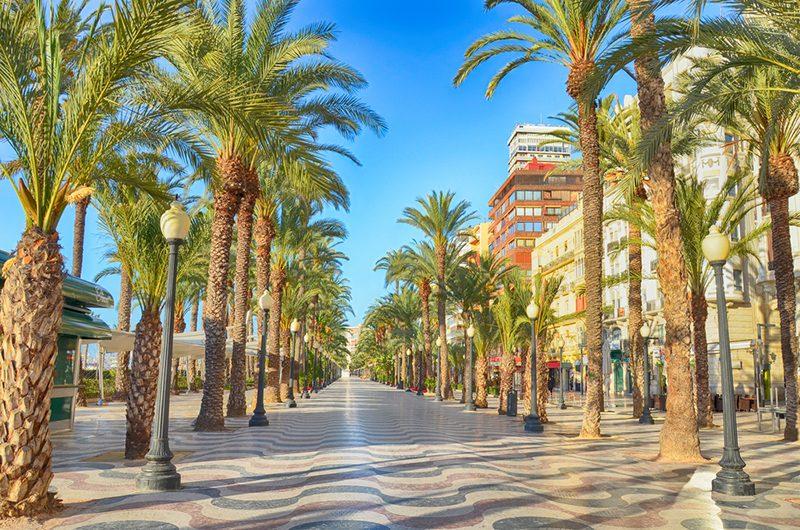 paseo de Alicante
